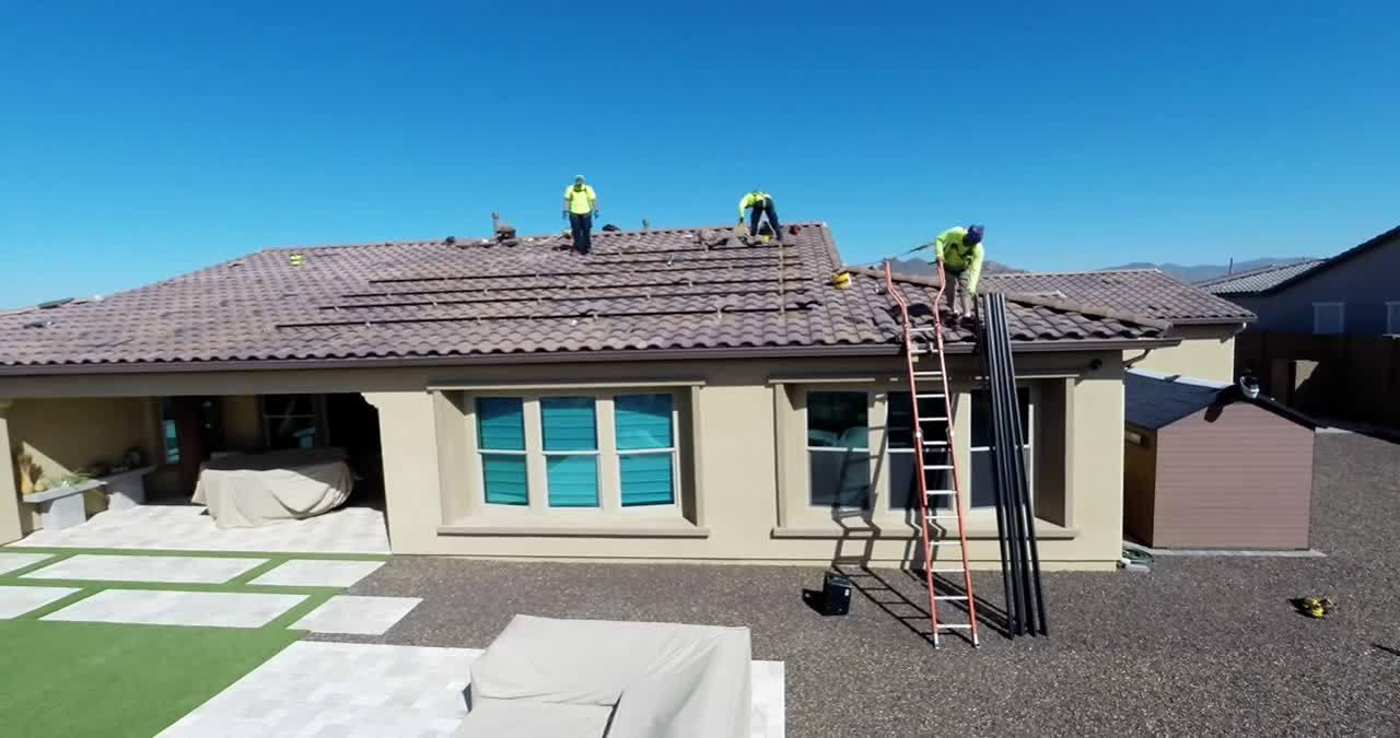 Greg H. Sun Valley Solar Install