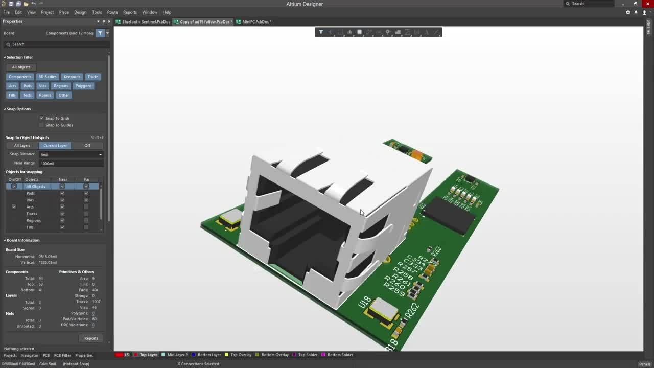 Altium Designer 18 Best Pcb Design Software For Engineers Automated Circuit Screenshot Discover How To Easily Route Both Rigid And Flex Designs By Following The Contours Of Your Board
