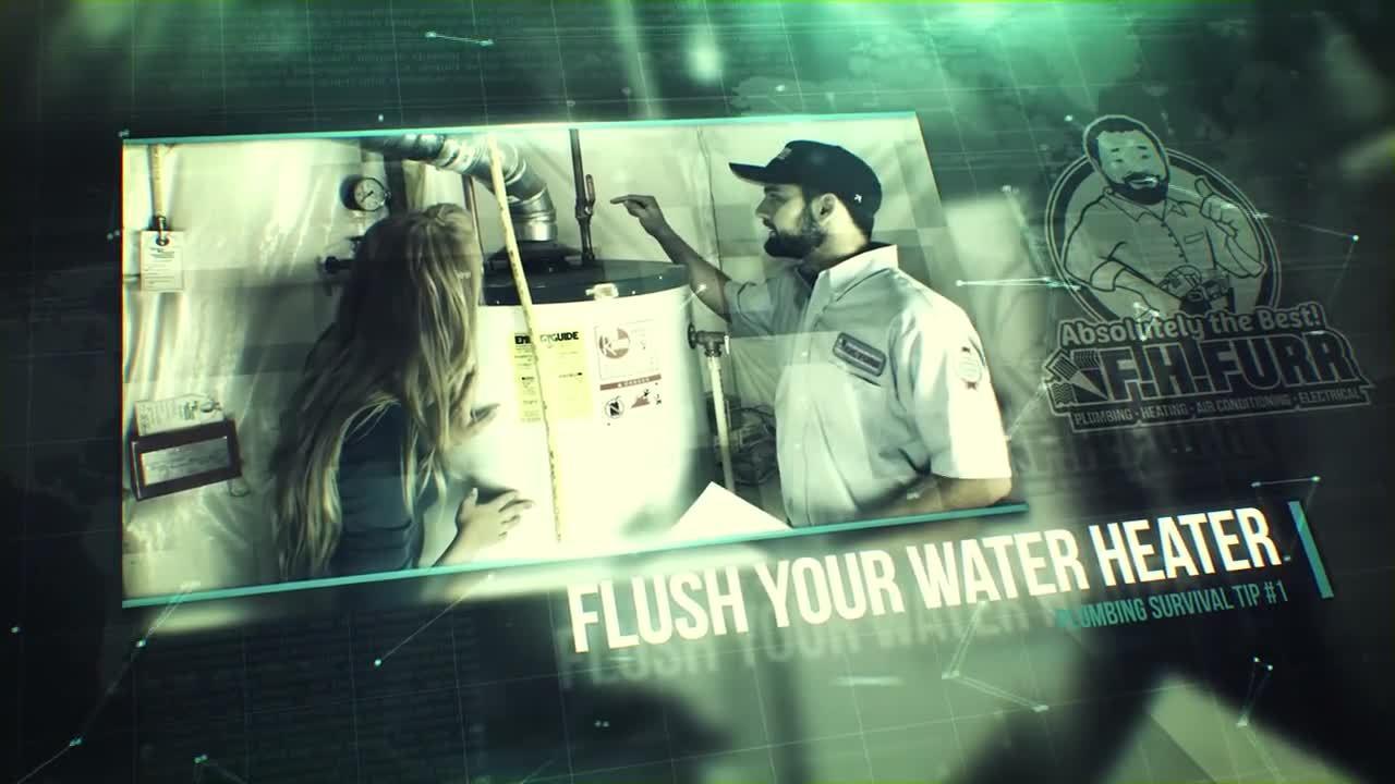 Survival Tip Plumbing Water Heater Flush