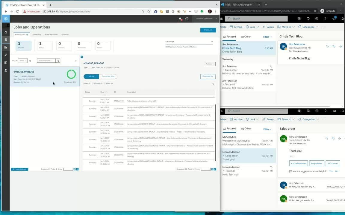 Cristie Nordic Office365 demo video v2