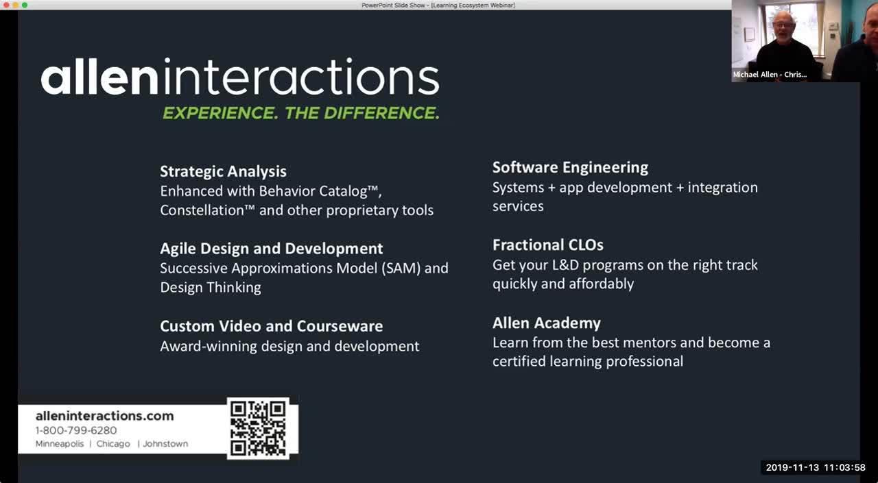 webinar nov 13 Design thinking