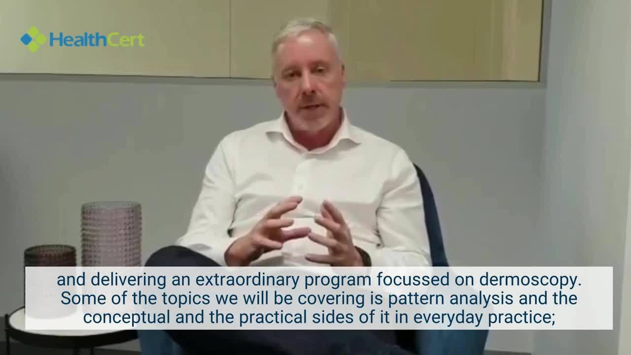 Paul Elmslie Dermoscopy Masterclass 2020 Program Launch