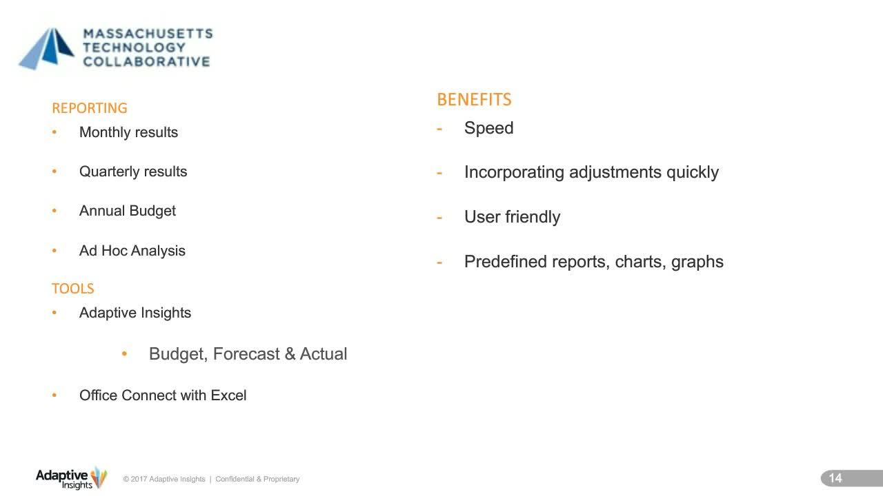 Screenshot for Creating Compelling Board Reports for Nonprofits