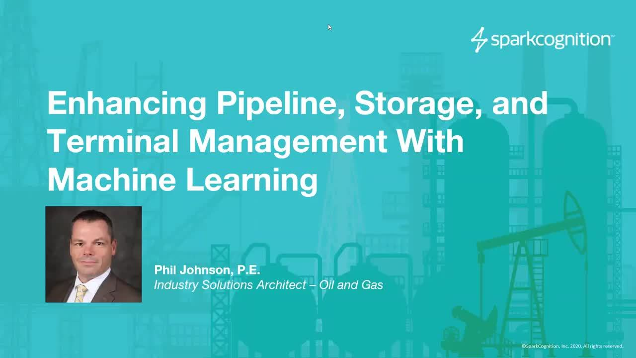 Enhancing Pipeline, Storage, and Terminal Management with Machine Learning