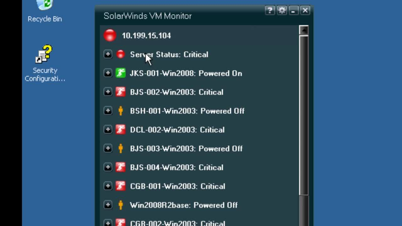 vm monitor overview - video | solarwinds