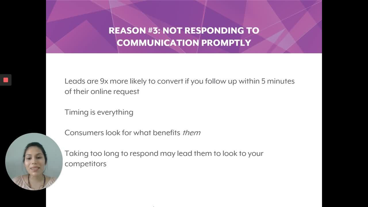 Top 7 Reasons your Business Keeps Losing Leads