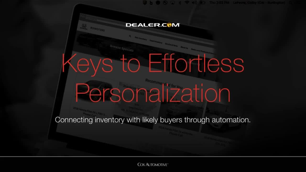 Keys to Effortless Personalization