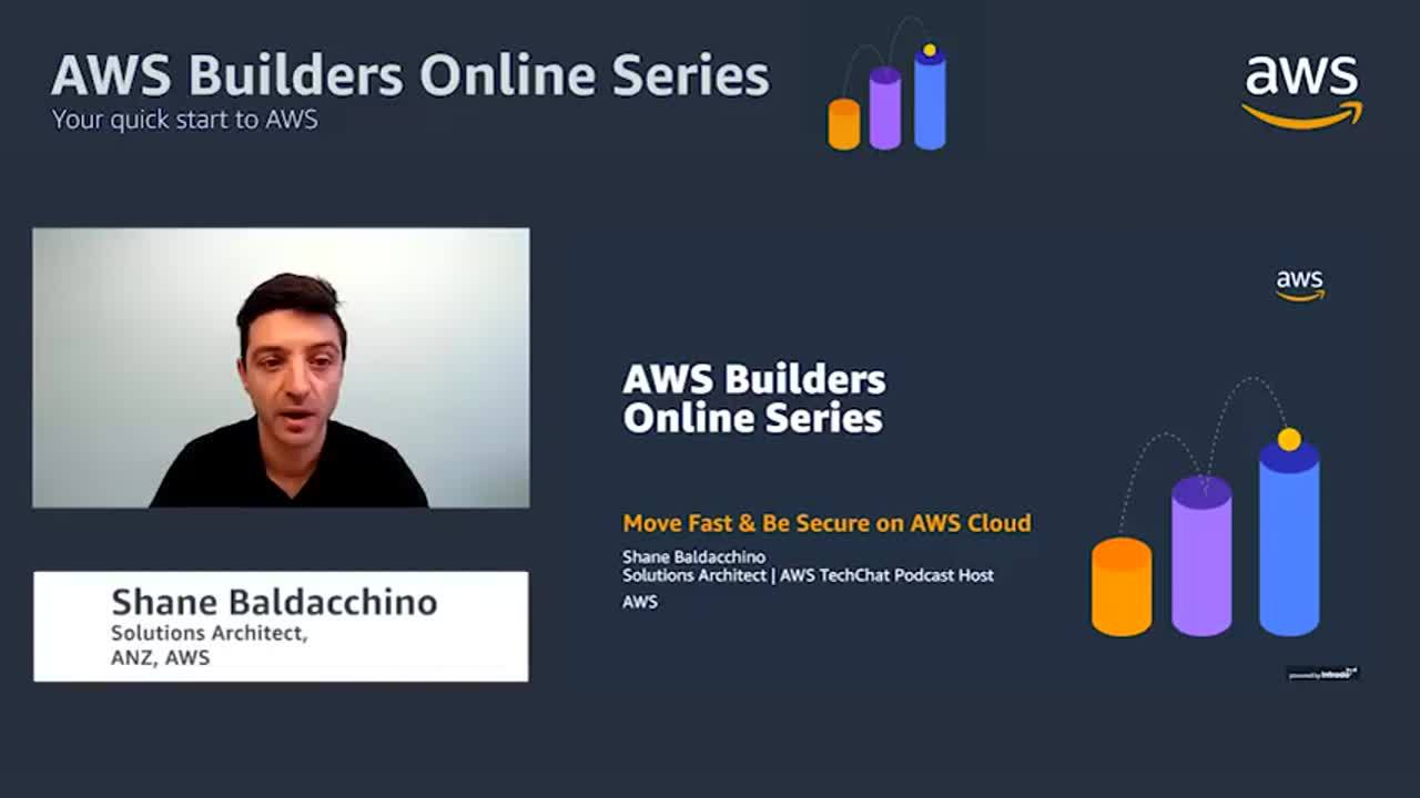 Move fast and be secure on AWS cloud