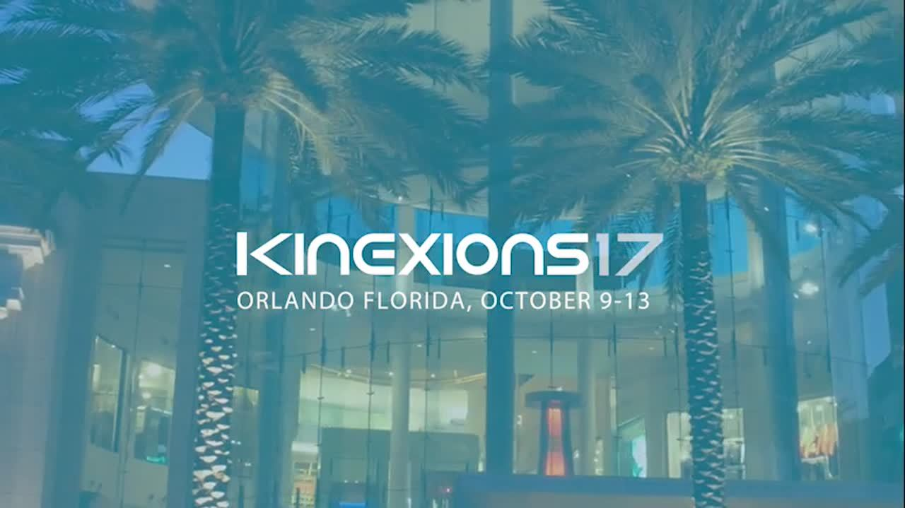 Kinexions '17 user and training conference