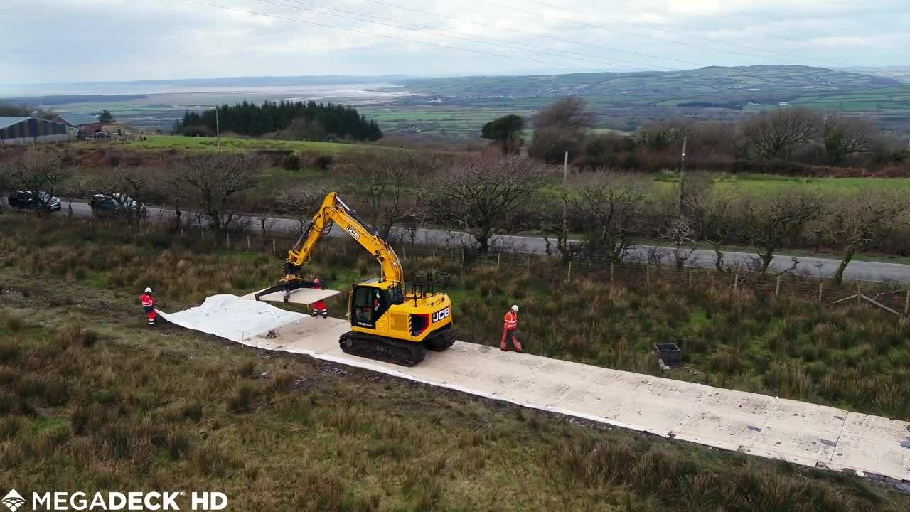 Wales Powerline Tower Replacement | MegaDeck HD