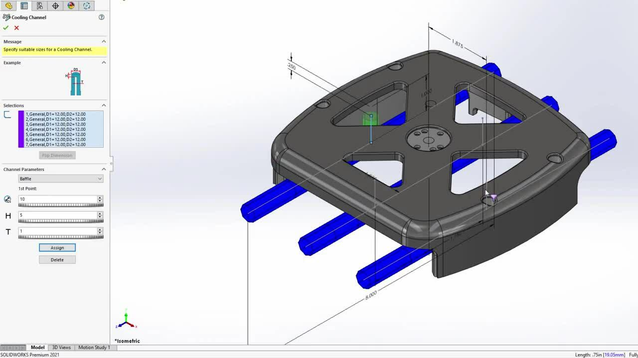 Whats New in SOLIDWORKS 2021 - Plastics