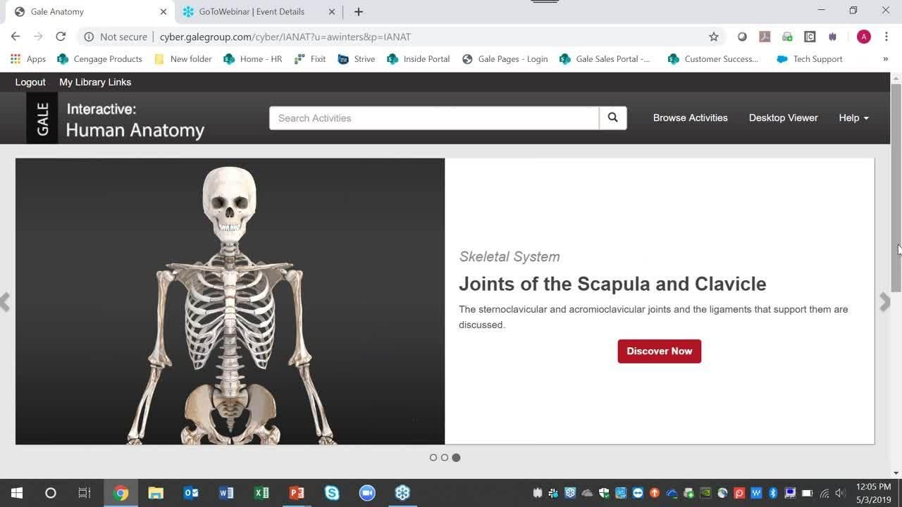 Gale Interactive: Human Anatomy Webinar Thumbnail