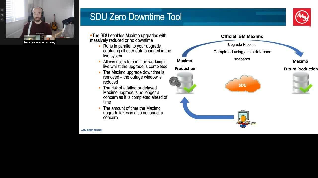 AAM Zero Downtime Upgrade w IBM