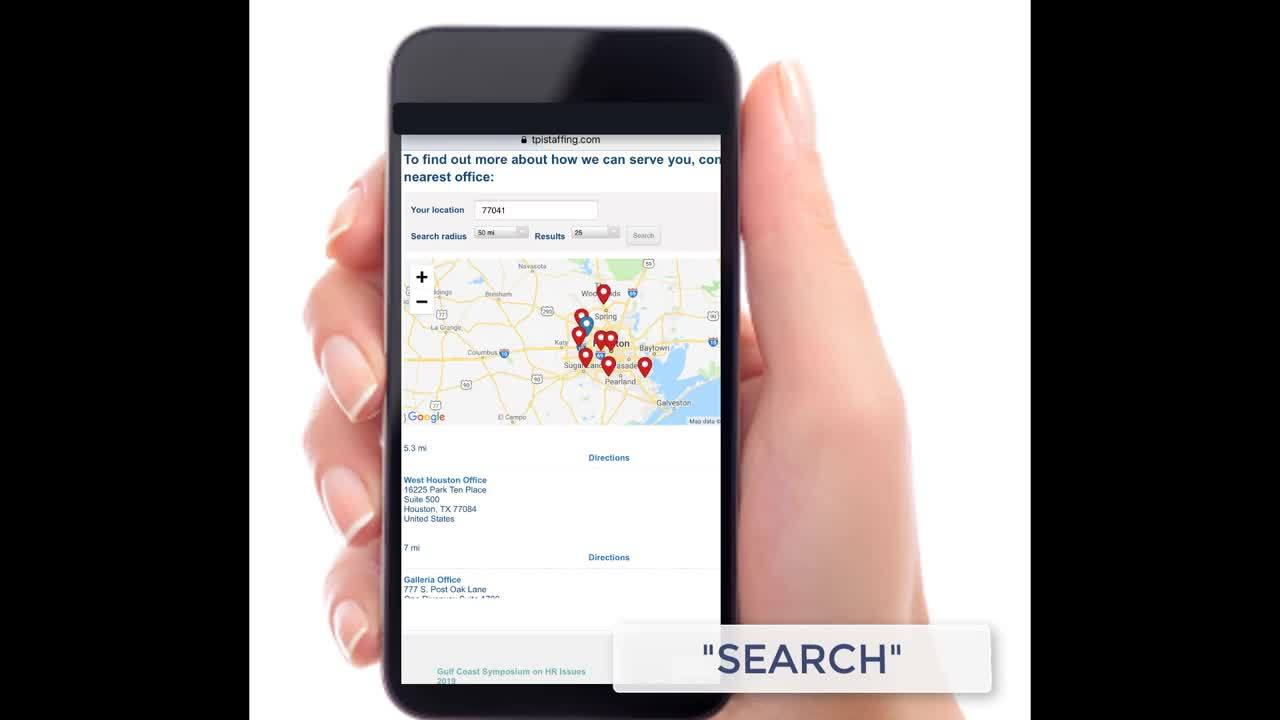 TPI Staffing Mobile Contact Us