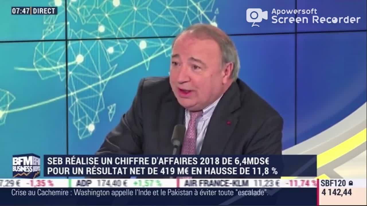 Good Morning Business - Thierry de la Tour d'Artaise
