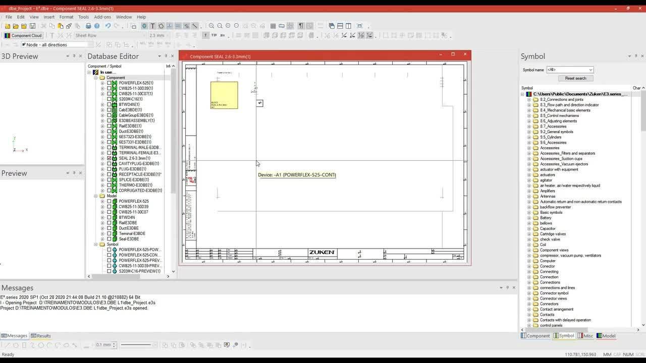 E3.dataBase Editor L1 - Contenido