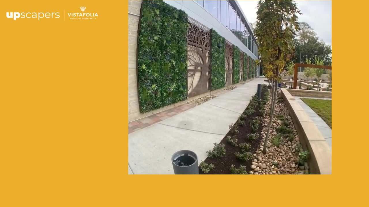 Virginia Beach, Virginia - Sentara Healthcare, Hospital Green Wall