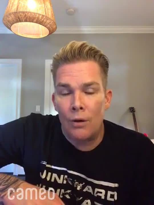 Cameo by Mark McGrath - visit cameo.com to get a message from your favorite person