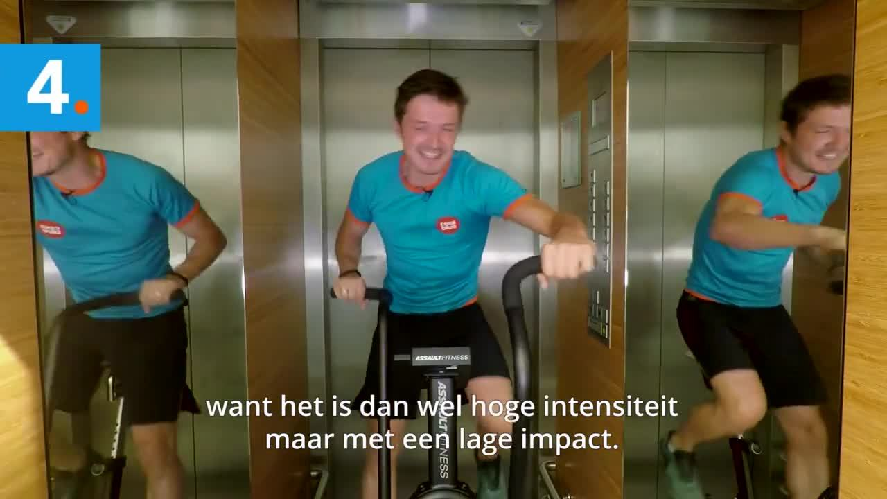 Crossfit in de Lift - Elevator Pitch #10 (1)