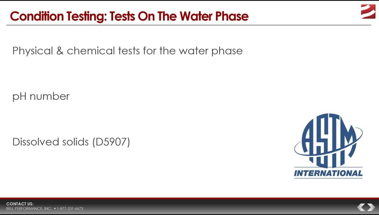 Condition Testing webinar 080118