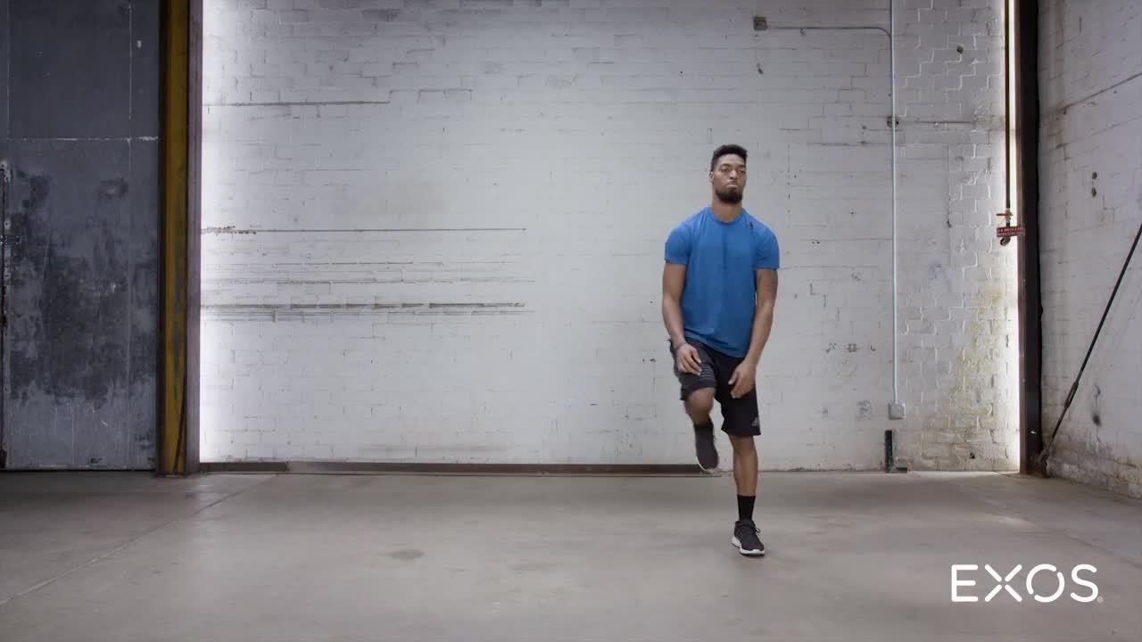 Lateral Lunge - Moving