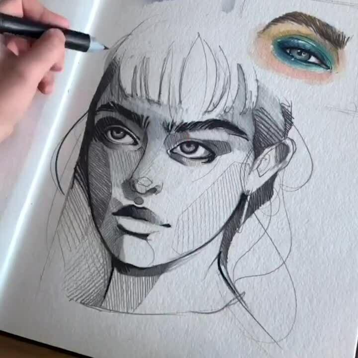 Monochrome Portrait - Sizzle EN