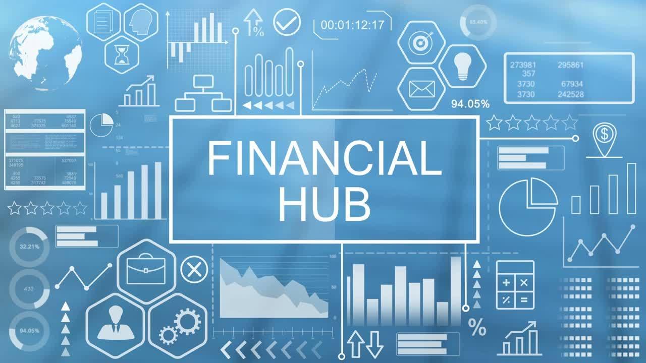 _Financial Hub animation
