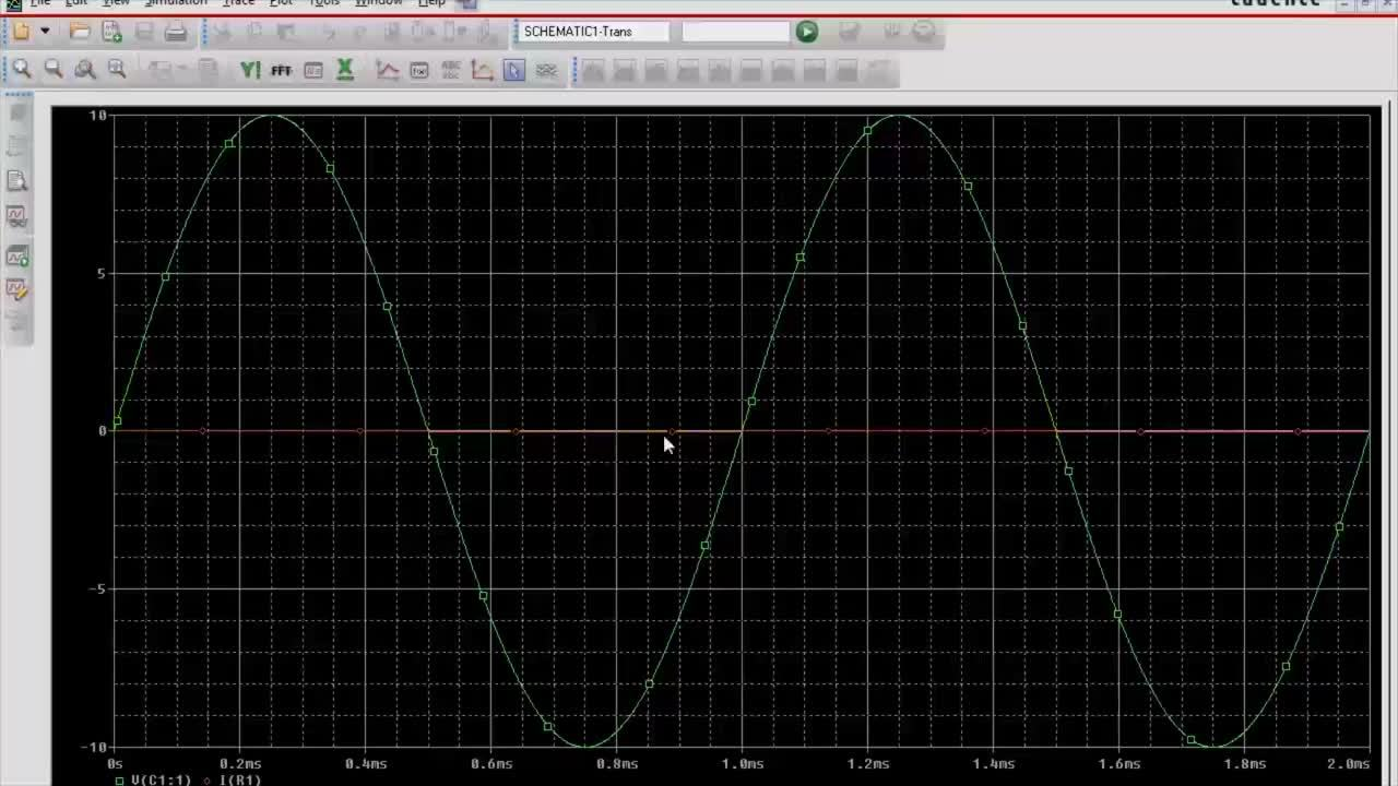 Capacitor Phase Shift