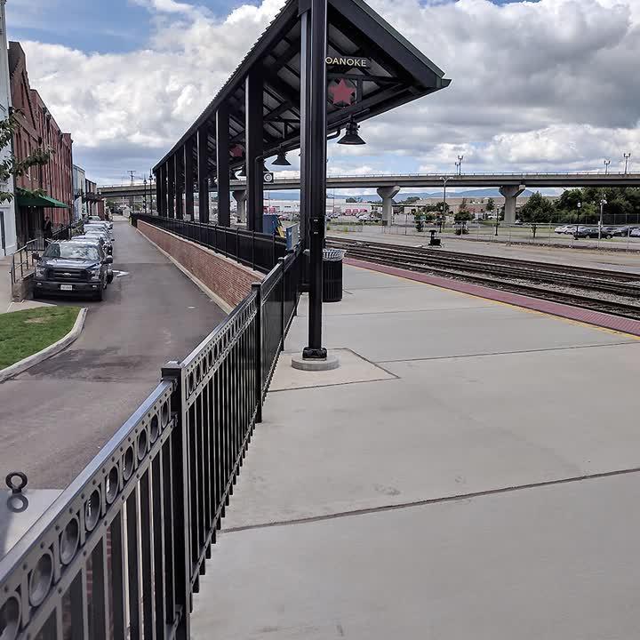 Roanoke Train Station Orn Steel