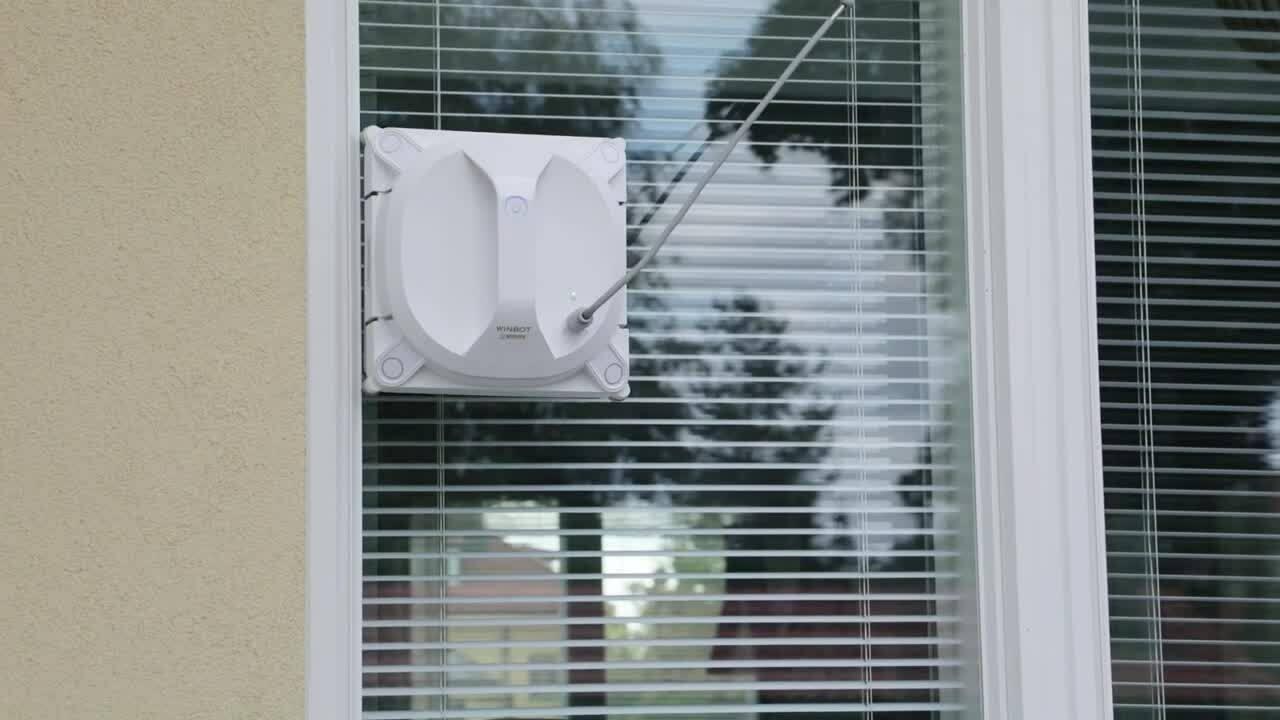 Energiaa-ikkunanpesurobotti