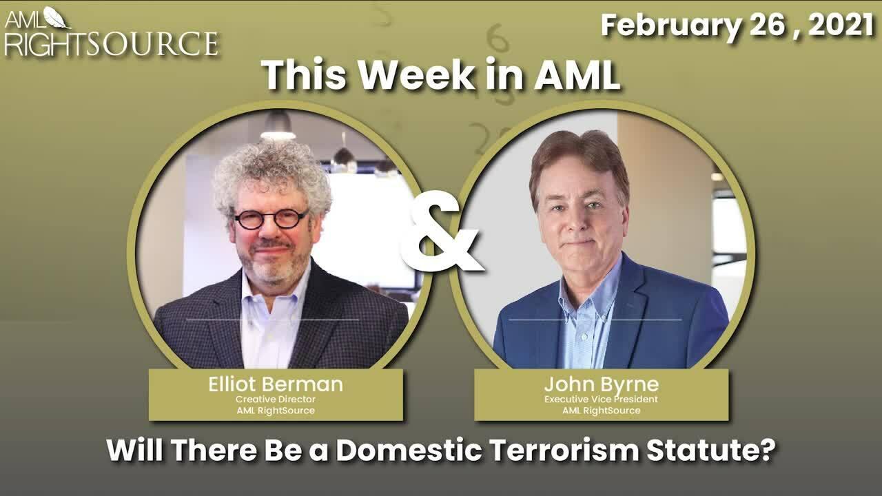 Will There Be a Domestic Terrorism Statute