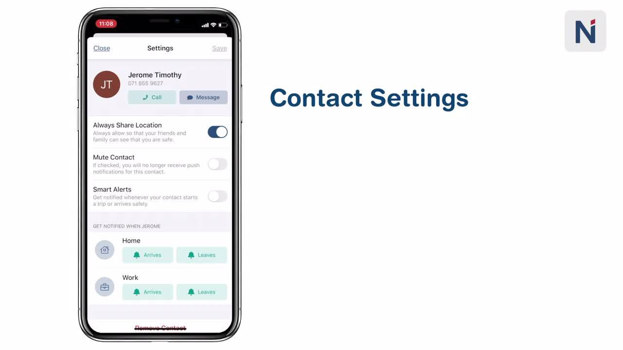 How to Manage a Contact