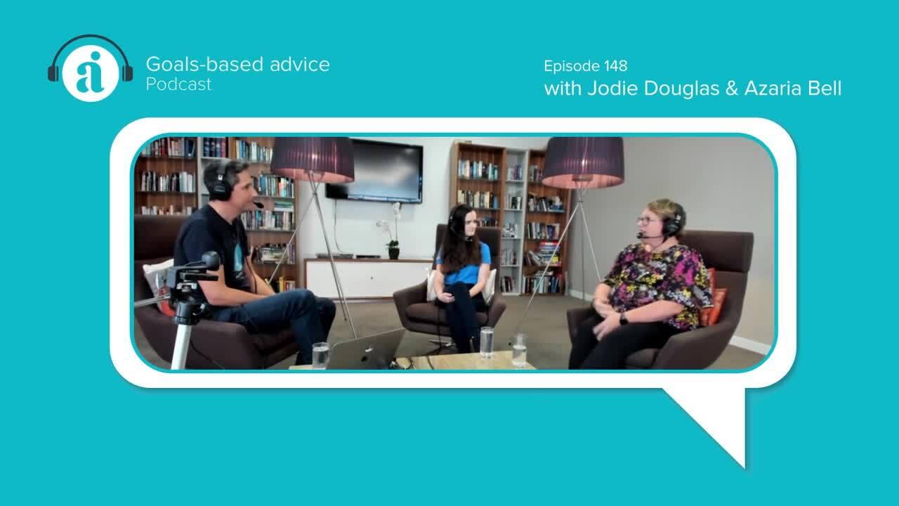 Episode 148 Jodie Douglas and Azaria Bell