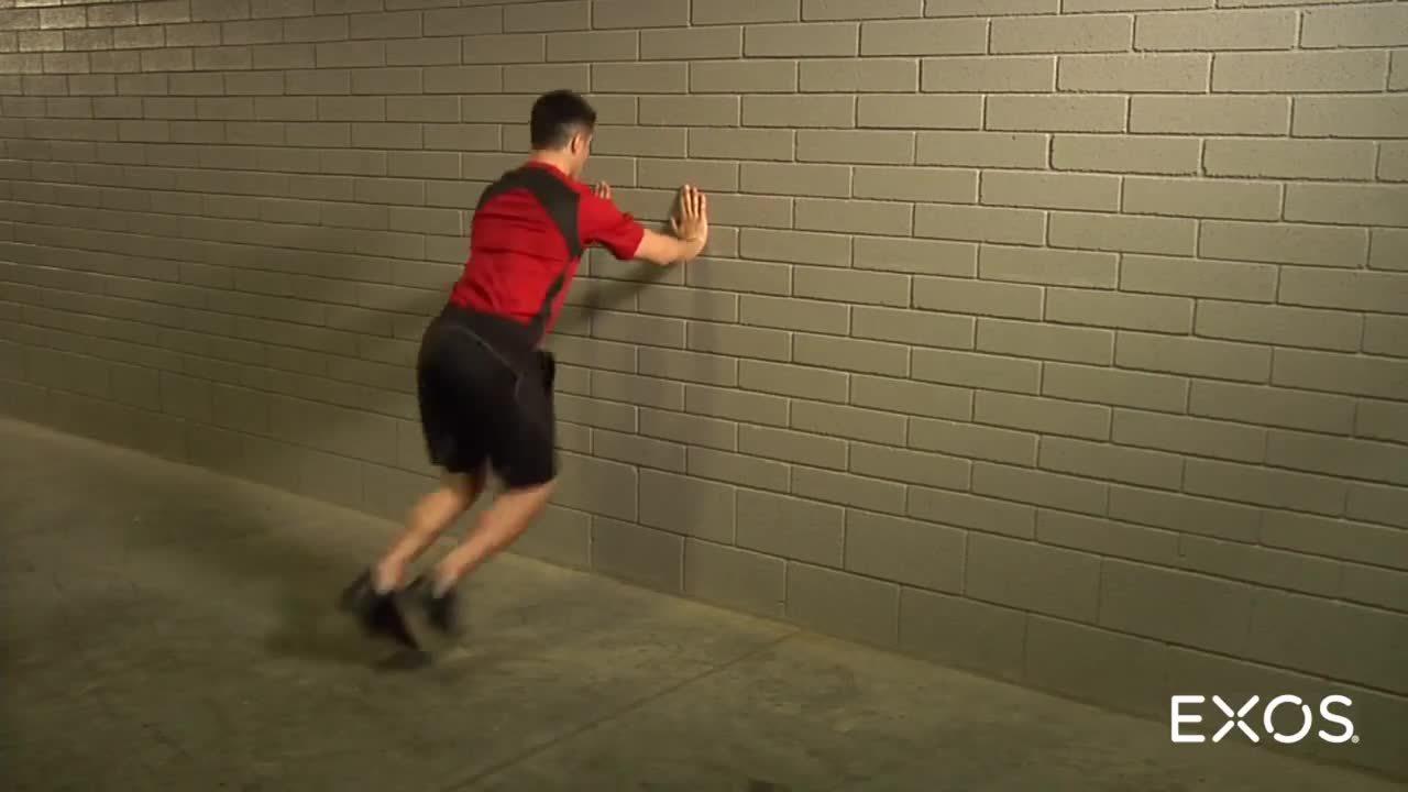 Acceleration Wall Drill - Running