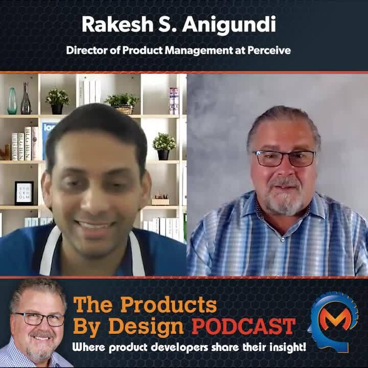 Rakesh S. Anigundi the Director of Product Management at Perceive