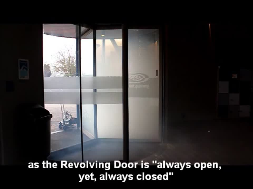 Revolving Door, Automatic Revolving Doors - Boon Edam
