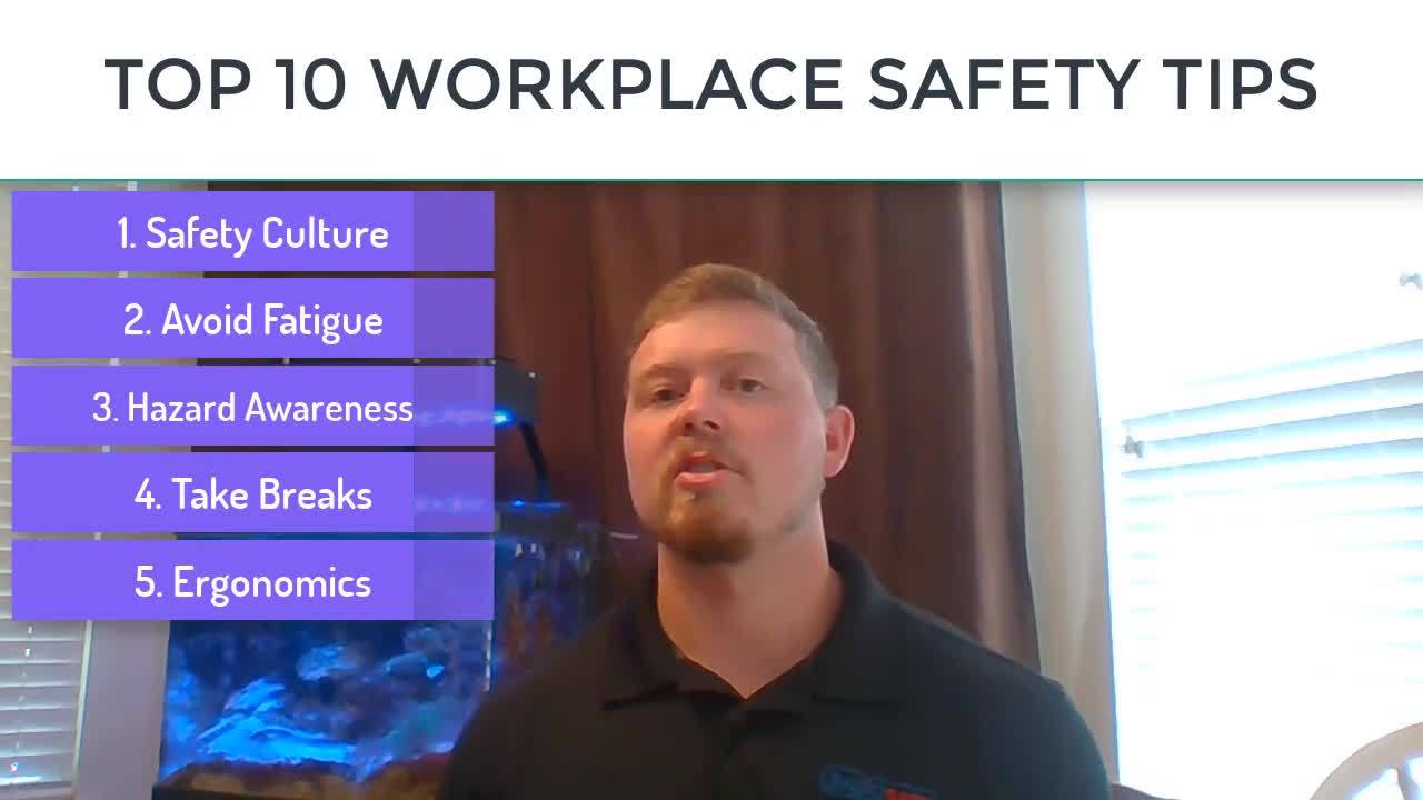 top10workplacesafetytips