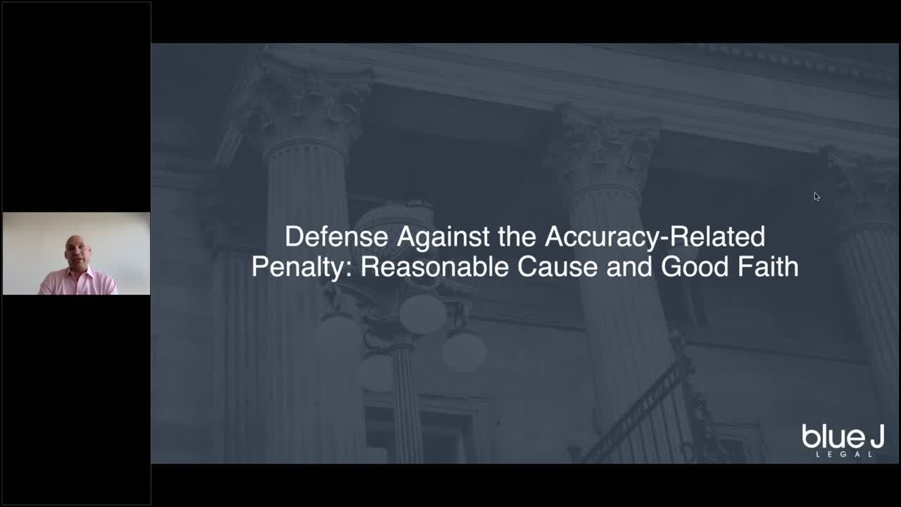 Tax Cuts and Jobs Act brings increased risk of accuracy-related penalties_ are you prepared_