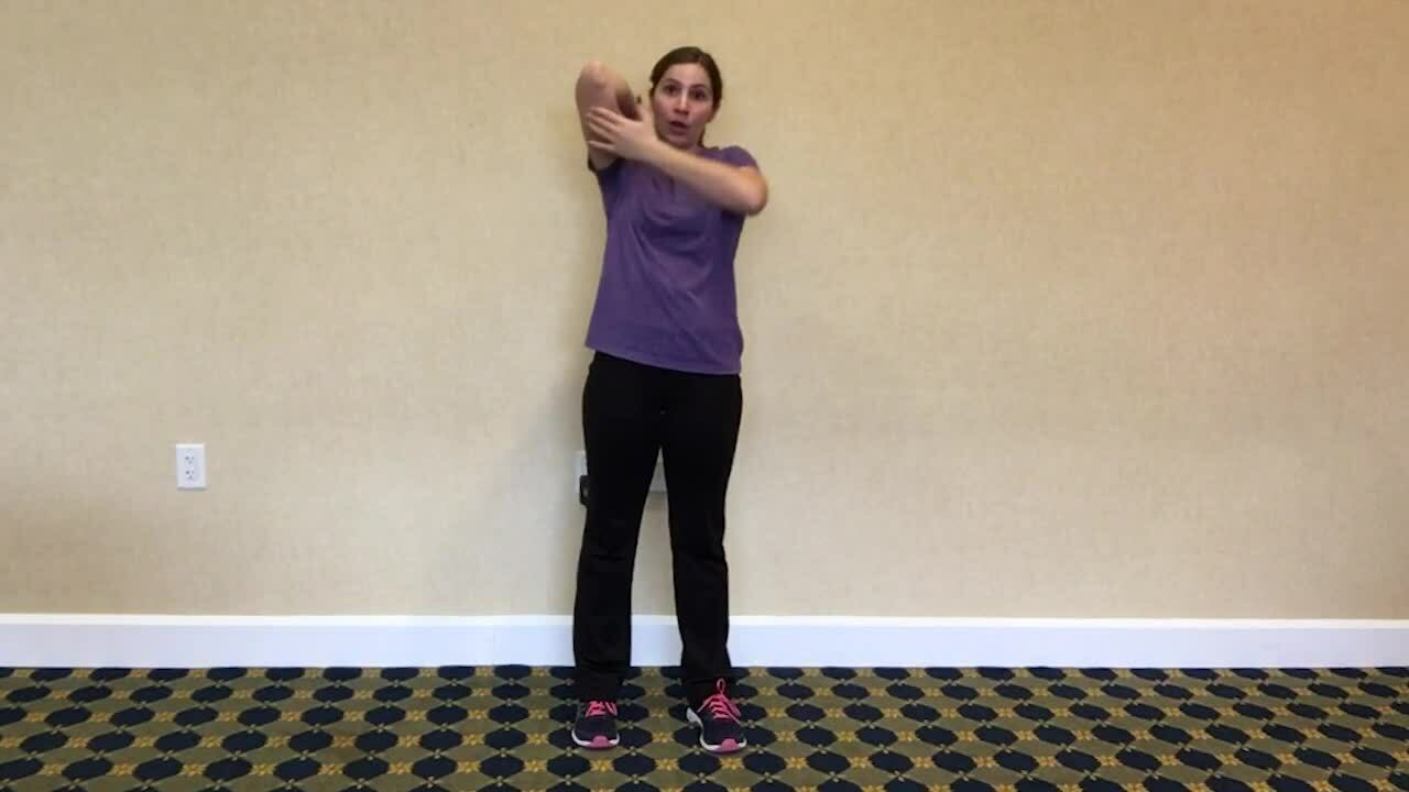 21-Tricep Stretch