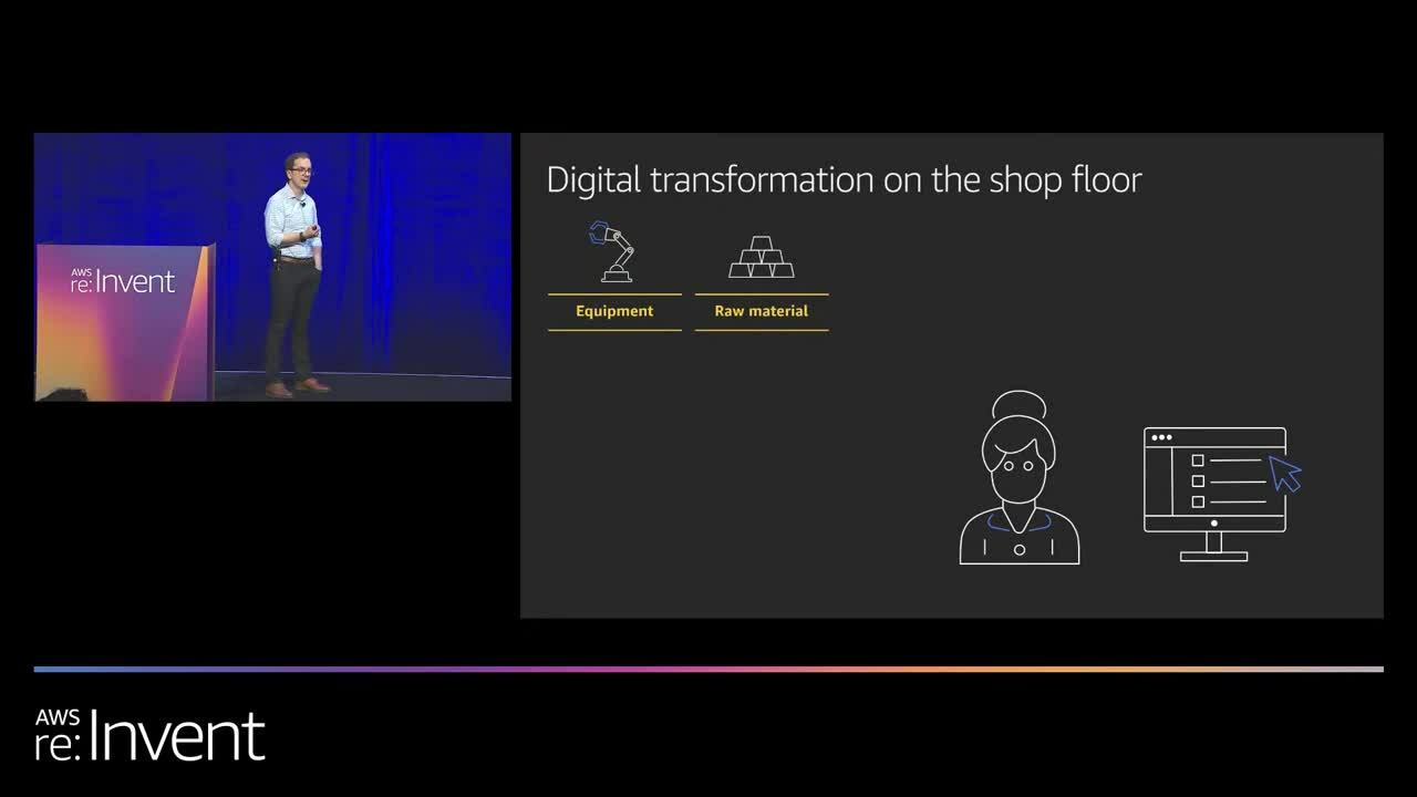 AWS re:Invent 2019: Modernizing pharmaceutical manufacturing with IoT and AI/ML