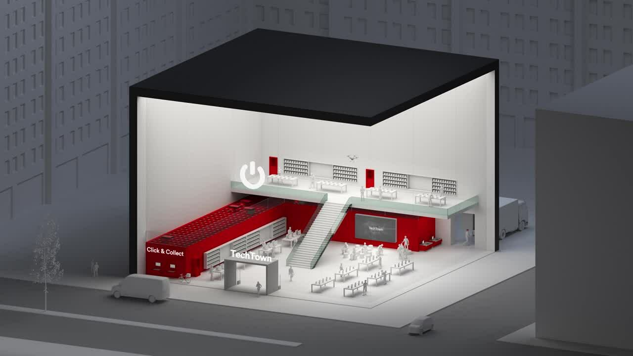 AutoStore_System_-_Electronic_Store_Retail_animation_(16_9format_43sec)
