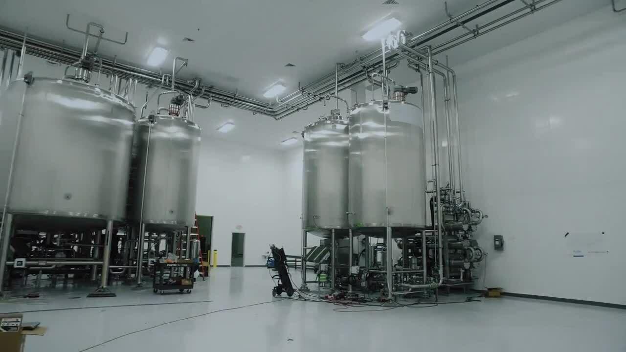 扩大生产规模的试点工厂