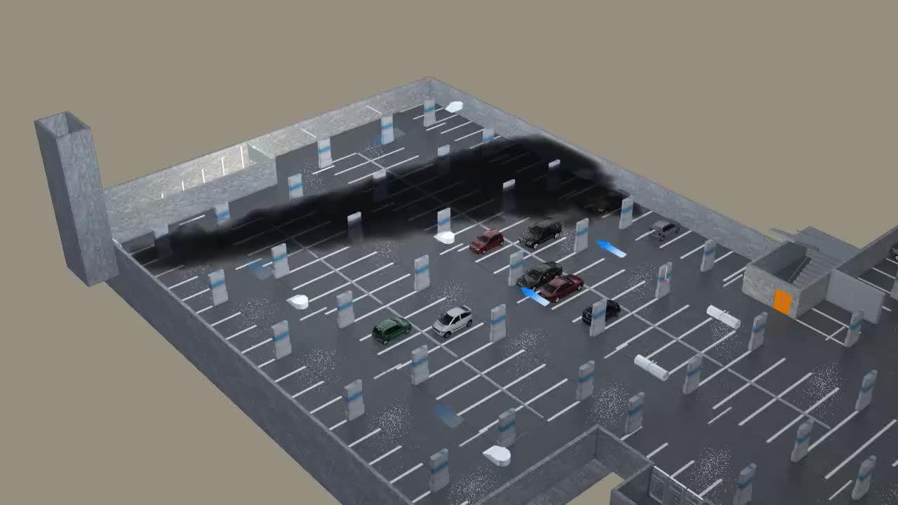 Centre_Commercial_8_Parking_Incendie_désenfumage