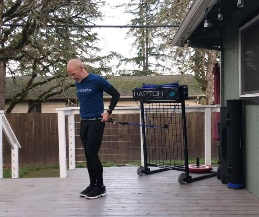 Raptor Blog Side Step Lunge to Step Back Lunge to Burpee