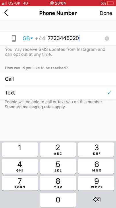 Instagram adding text