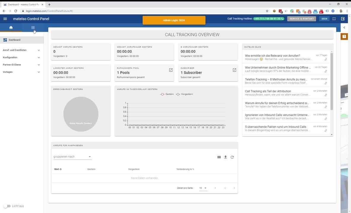 Klickstrecke Rechnungsdownload