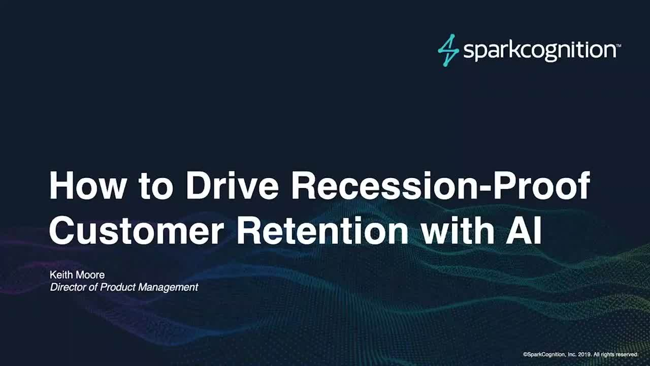 How to Drive Recession-Proof Customer Retention with AI