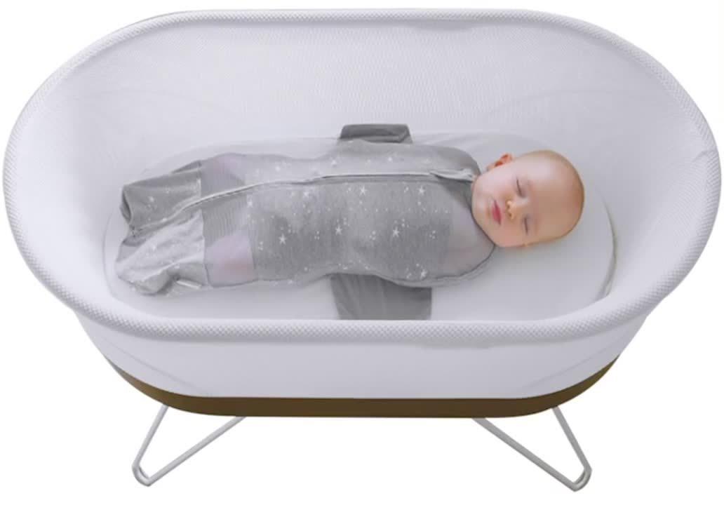 baby in the SNOO