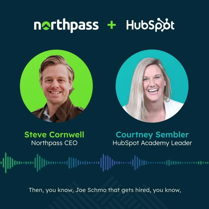Customer Education Northpass Hubspot Fireside Chat Courtney Sembler