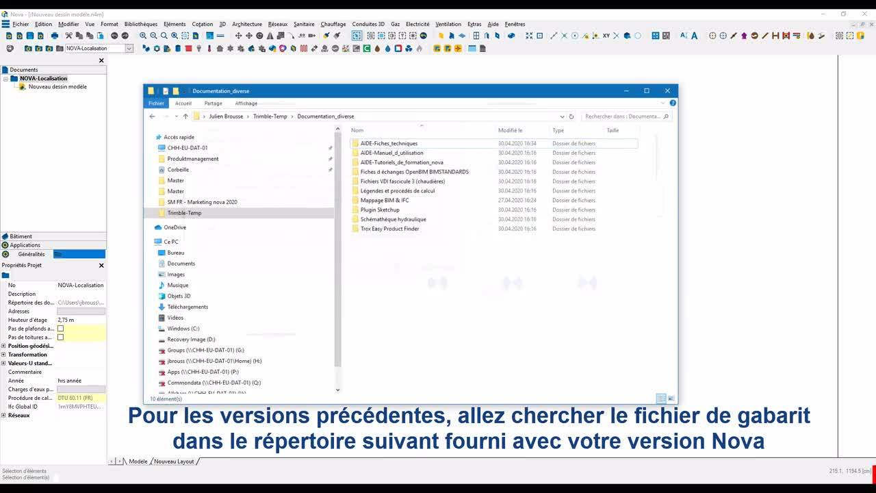 Novatip 41 - Nomenclatures via attributs libre et tableurs - Partie III